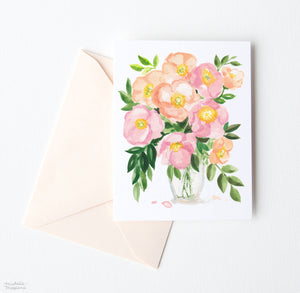 POPPY POSY NOTE CARD SET