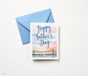 SAILING SUNSET FATHER'S DAY CARD