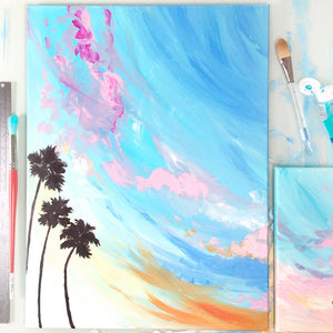 Load image into Gallery viewer, Wanderlust No. 2 Painting
