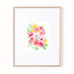Load image into Gallery viewer, Long Lasting Flowers Art Print