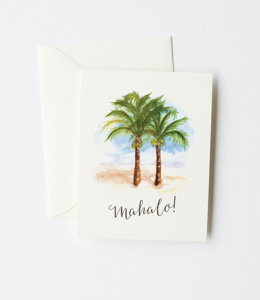Mahalo! Thank You Card Set