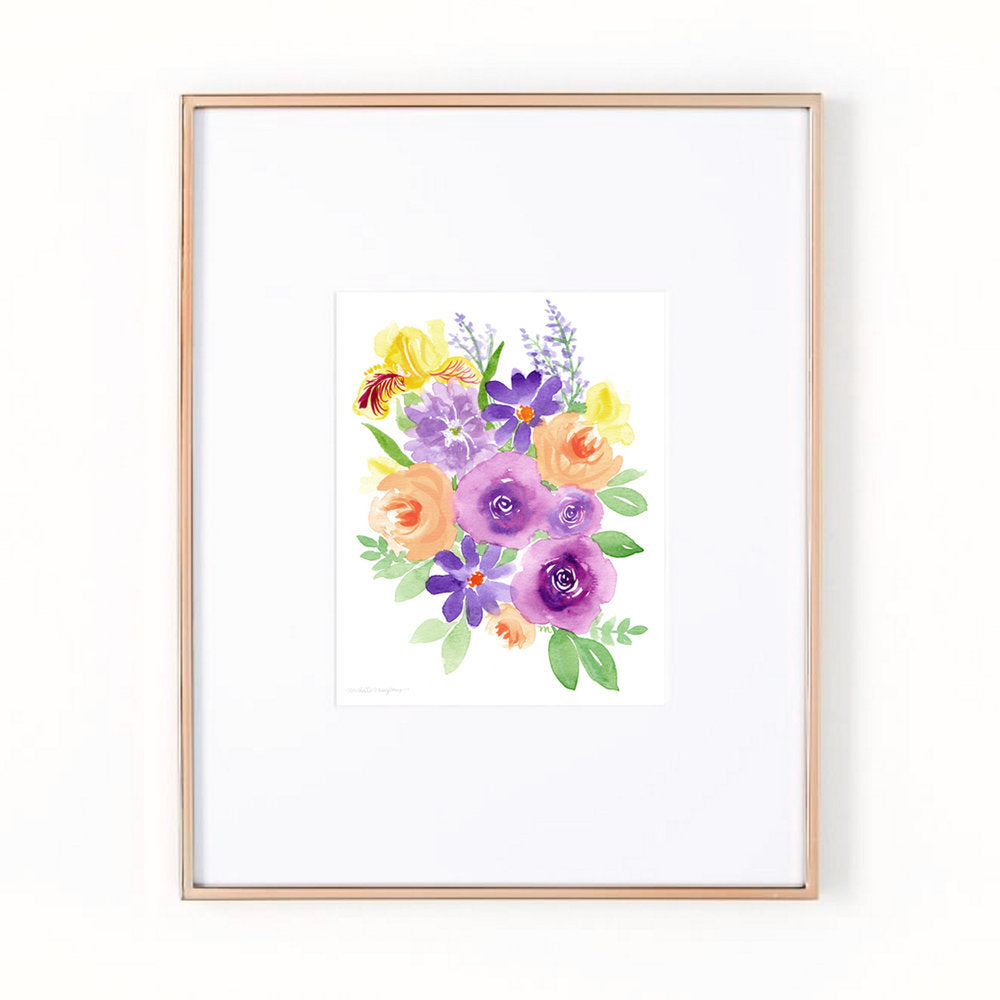 Pam's Bouquet Art Print