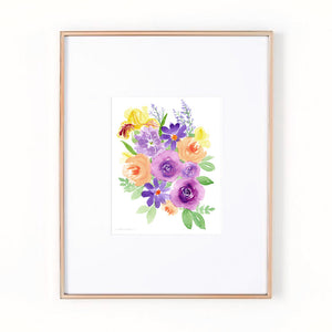 Load image into Gallery viewer, Garden Gathering Art Print