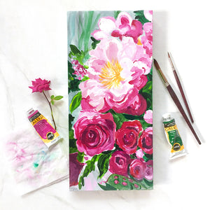 Blossom-filled Painting