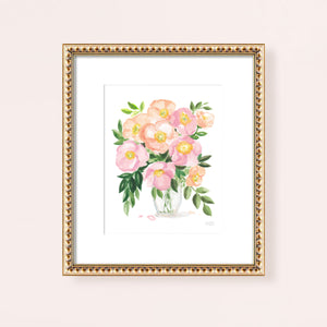 Load image into Gallery viewer, Spring Posy Watercolor Art Print