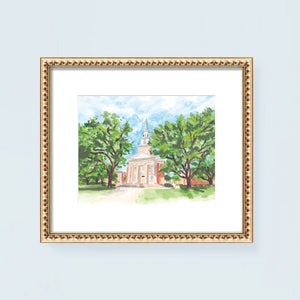 Robert Carr Chapel Art Print