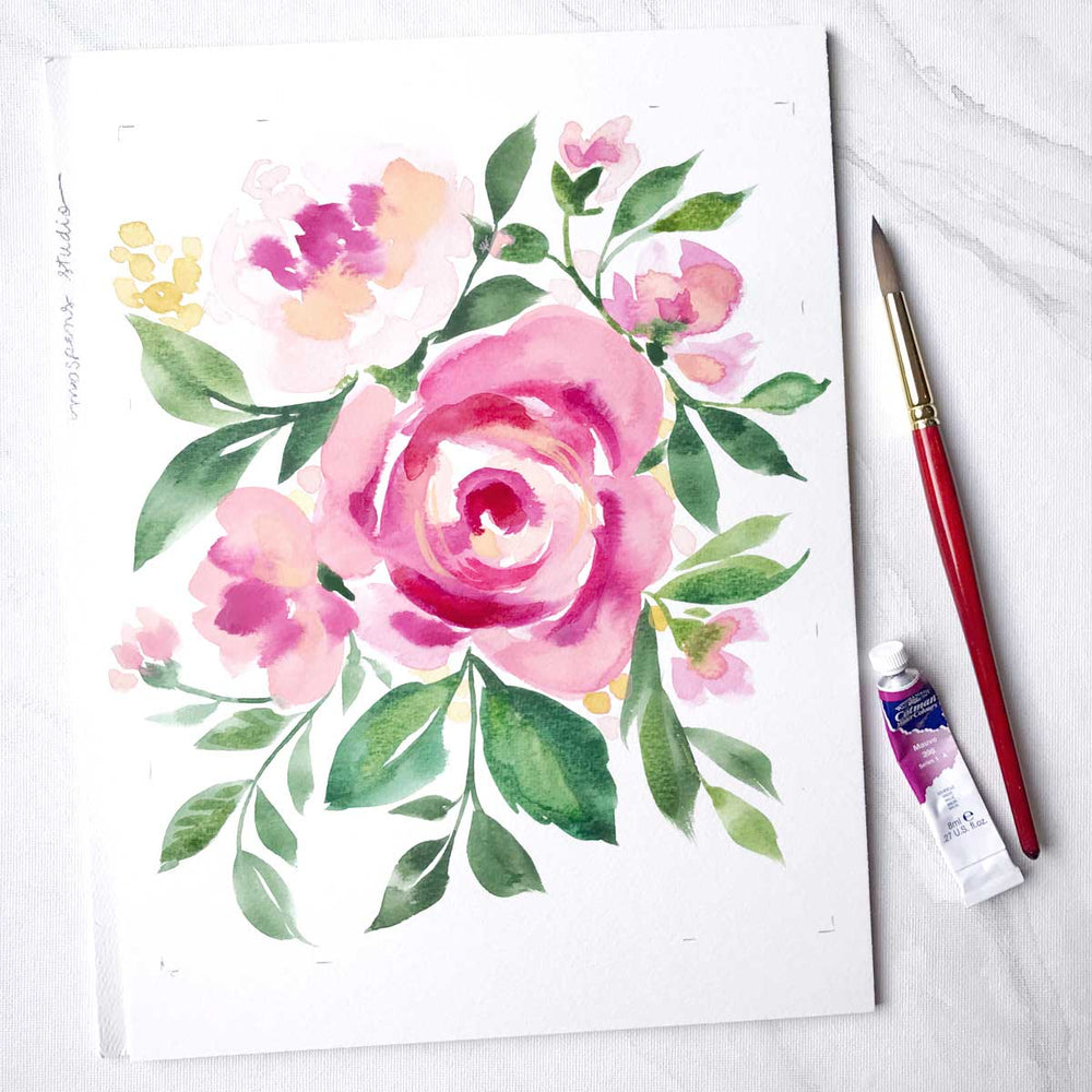 Load image into Gallery viewer, Petal Medley Floral Art Print