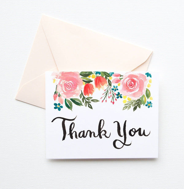 SUMMER LOVING THANK YOU CARD SET