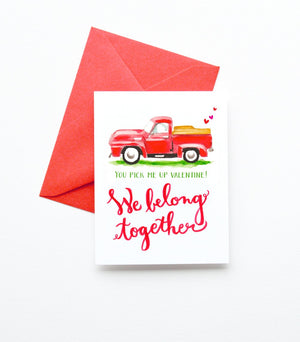 Load image into Gallery viewer, VINTAGE TRUCK VALENTINE