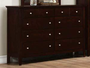 GTU Furniture Transitional Styling Metro Twin/Full/Queen/King Bedroom Set