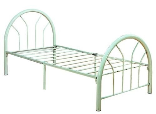 GTU Furniture Twin Size Metal Kid Bed Set with Headboard And Footboard, Brand New