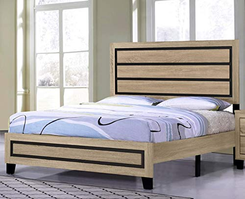 GTU Furniture Classic Minimalist Style Bedroom Set