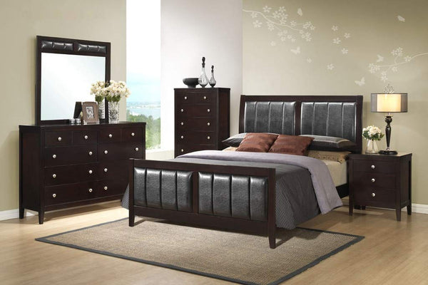 GTU Furniture Contemporary Styling Rosa Queen/King Bedroom Set