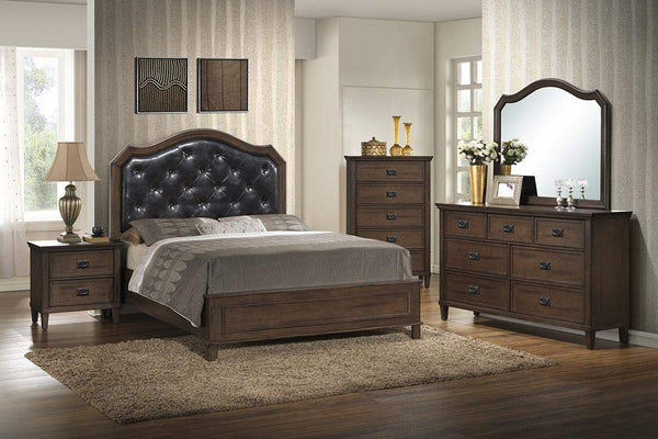 GTU Furniture Perfect Classical Style Wooden Bedroom Set