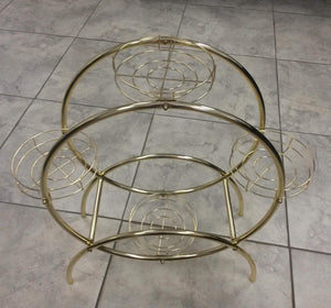GTU Furniture Classic Metal Plant Stand
