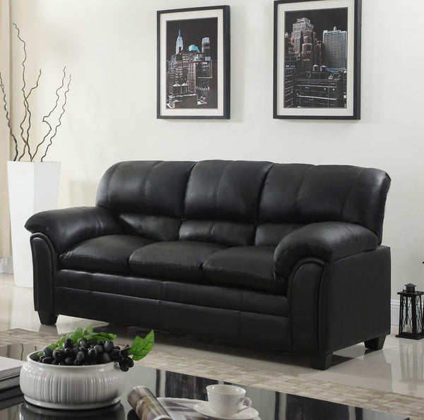 GTU Furniture New Bonded Leather Sofa and Loveseat Living Room Furniture Set