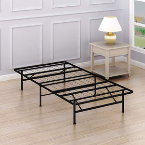 GTU Furniture 14-Inch Queen Size Mattress Foundation Platform Bed Frame