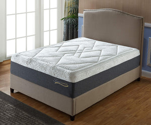 Forever Comfort Durable Gel Memory Foam 14 Inch Mattress
