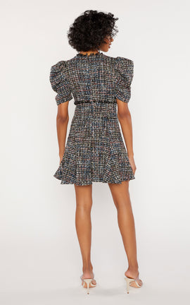 Multi Tweed Alia Dress