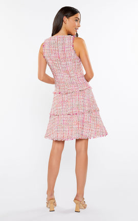 Tweed Jewel Dress