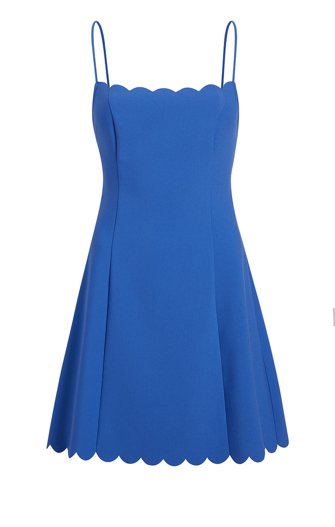 Scalloped Carter Dress