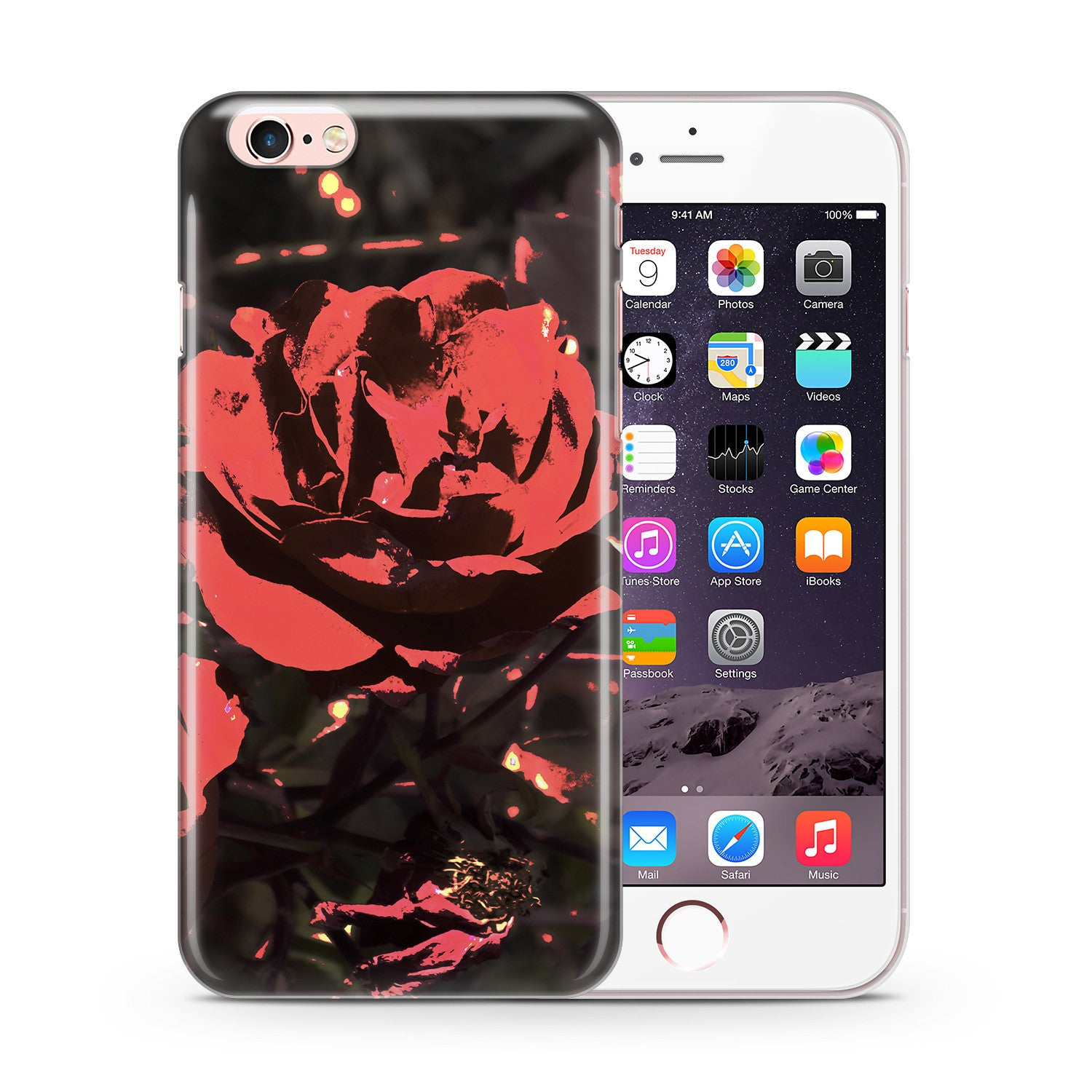 Rose Glow Phone Case