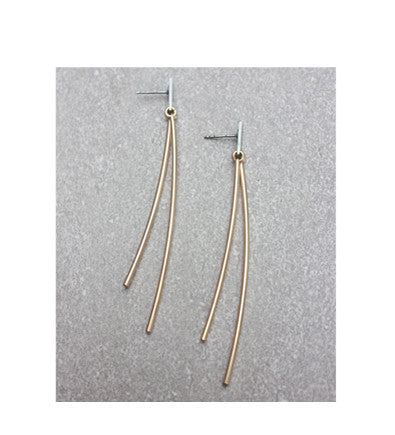 METAL SPIRE EARRINGS