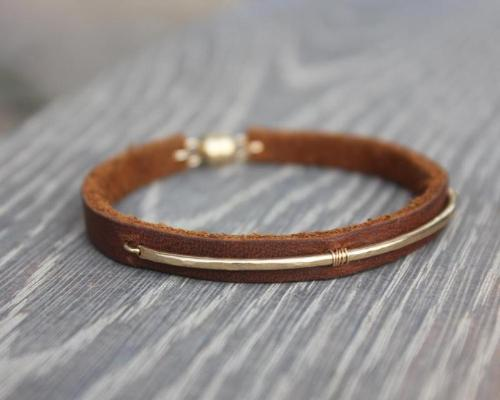 LEATHER SADIE CUFF