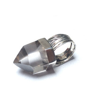 CRYSTAL PHARAOH RING