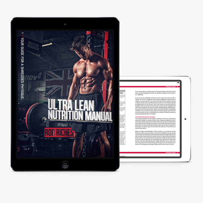 Ultra Lean Nutrition Manual Download