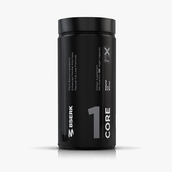 Bserk Core Fat Burner Front