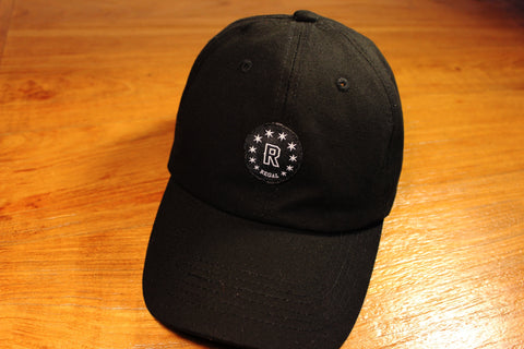"The ""REGAL BLACK"" Strapback hat"