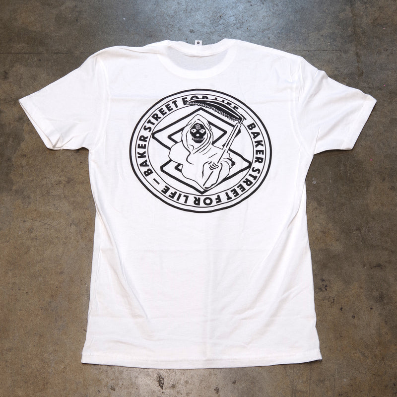 Baker Street For Life T-Shirt | White