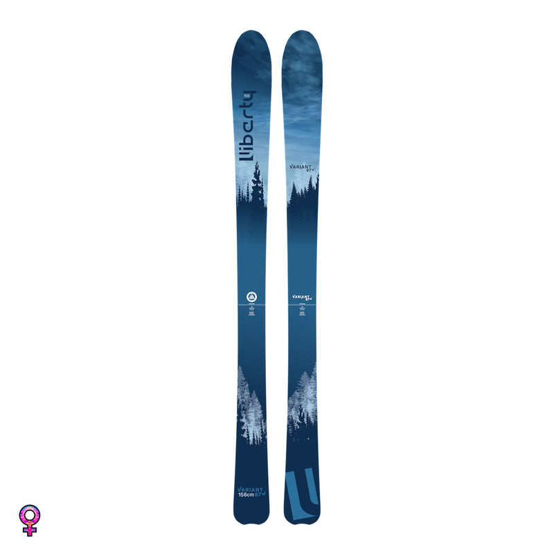 Liberty Variant 87W Skis | 2020