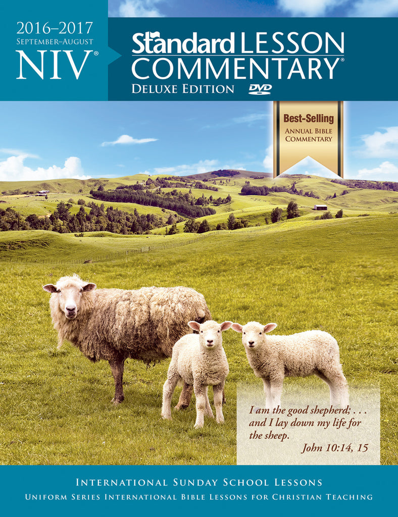 NIV® Standard Lesson Commentary® Deluxe Edition 2016-2017