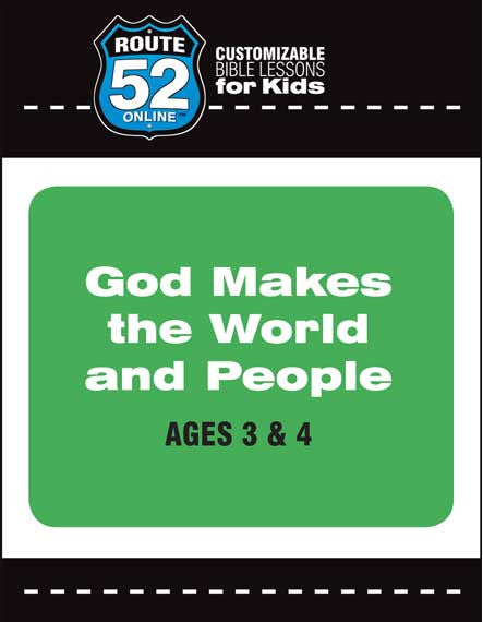 Route 52 - God Makes the World and People