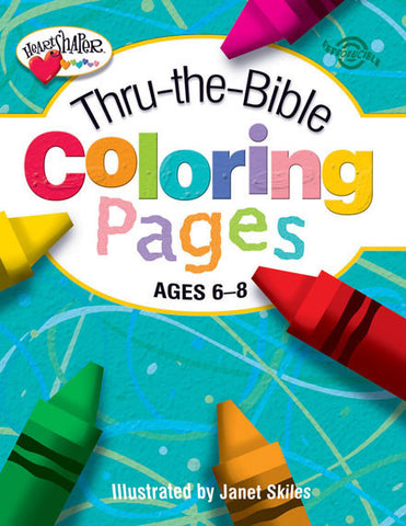 Thru-the-Bible Coloring Pages (Ages 6-8)