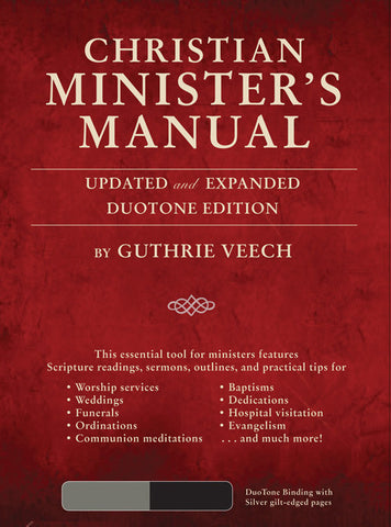 Christian Minister's Manual Modifiable Documents