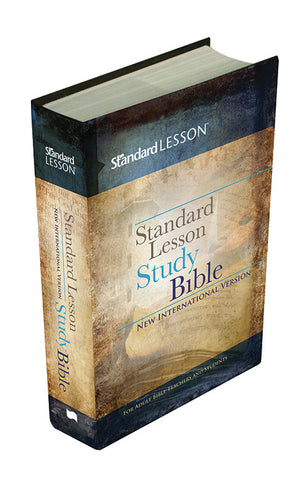 NIV® Standard Lesson Study Bible Hardcover