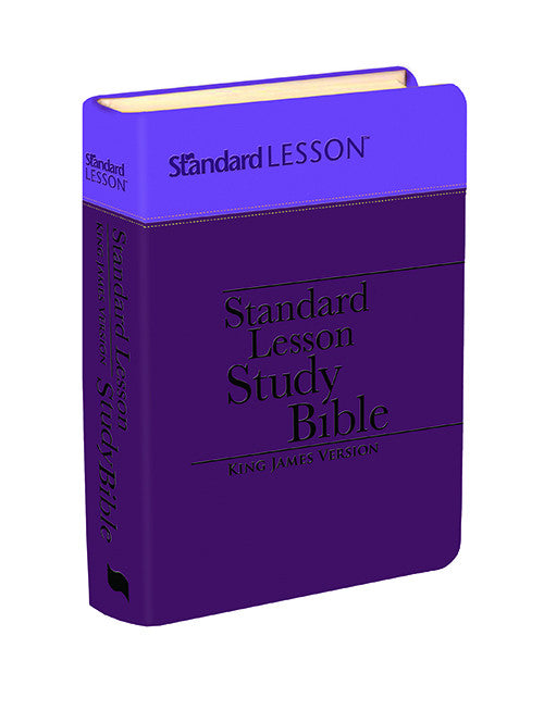 KJV Standard Lesson Study Bible - Limited Edition