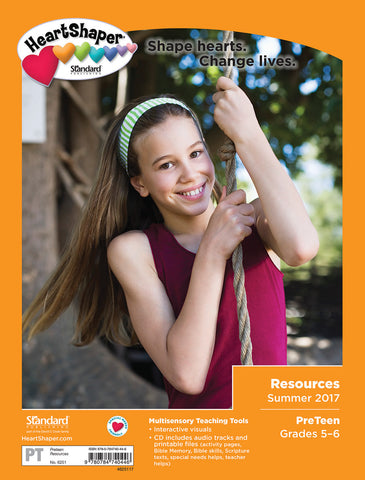 PreTeen Resources - Summer 2017