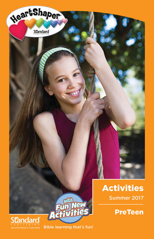 PreTeen Activities - Summer 2017