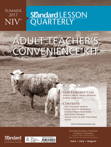 NIV® Adult Teacher's Convenience Kit - Summer 2017