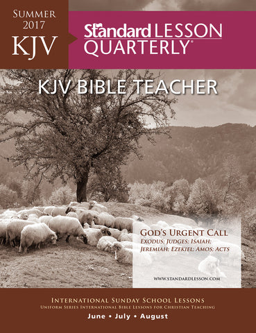 KJV Bible Teacher - Summer 2017