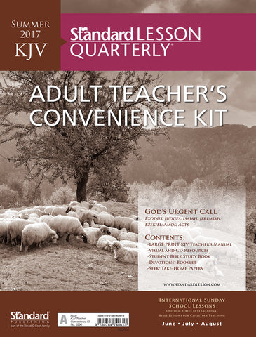 KJV Adult Teacher's Convenience Kit - Summer 2017