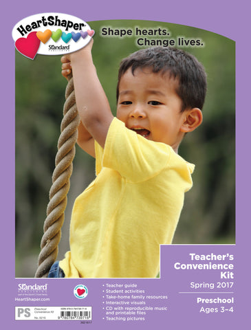 Preschool Teacher's Convenience Kit - Spring 2017