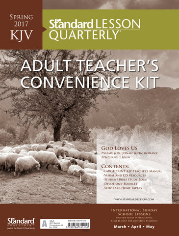 KJV Adult Teacher's Convenience Kit - Spring 2017