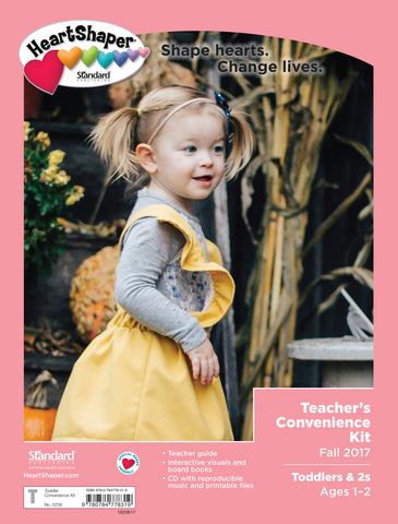 Toddlers & 2s Teacher's Convenience Kit—Fall 2017