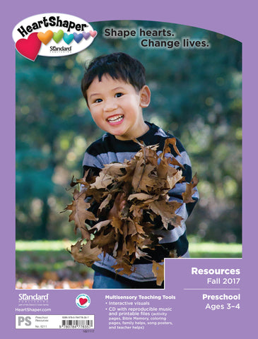 Preschool Resources—Fall 2017
