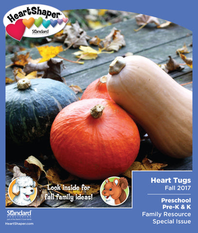 Preschool/Pre-K & K Heart Tugs Take-Home—Fall 2017